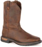Rocky Original Ride Men's Steel-Toe Work Boots