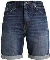 Kiomi Denim Shorts Dark Blue