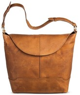 Børn Leather Women's Hobo Handbag with Magnetic Closure