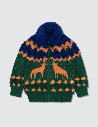 Mercibeaucoup Zip-up Knitwear