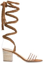 Ritch Erani NYFC 'Alex' sandals - women - Calf Leather/Suede/PVC - 35