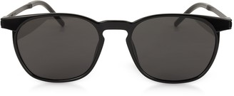 Saint Laurent SL 240 Acetate and Metal Squared Men's Sunglasses