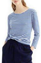 J.Crew J. CREW Stripe Twist Back Tee