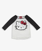 Hello Kitty FOREVER 21 girls Raglan Tee