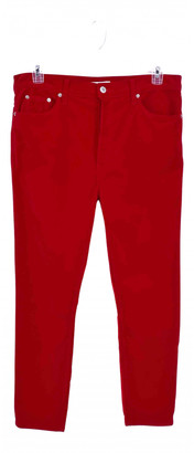 RE/DONE Red Cotton - elasthane Jeans