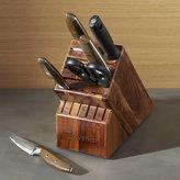 Crate & Barrel Wusthof ® Epicure 7-Piece Knife Block Set