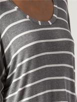 Splendid Boxy Striped Shirt
