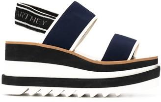 Stella McCartney Elyse slingback platform sandals