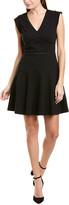 Rebecca Taylor Jacquard Taylor A-Line Dress