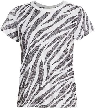 Rag & Bone Zebra-Print Tee