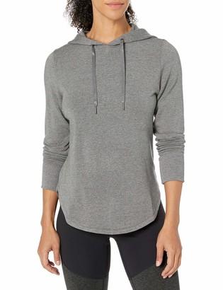 Core Products Amazon Brand - Core 10 Women's Yoga CoreCloud Fleece Hoodie Sweatshirt