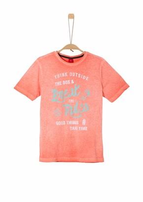 s.Oliver Junior Boy's T-Shirt Mit Muster