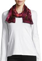 Lauren Ralph Lauren Floral-Print Silk Scarf