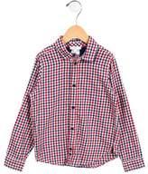 Jacadi Boys' Button-Up Plaid Shirt