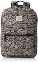 Levi's Unisex Adults' The Original Back Pack Leaf PrintMessenger Bag grey