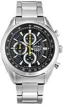 Seiko Ssb279p1 Limited Edition Chronograph Date Bracelet Strap Watch, Silver/black