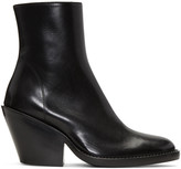 Ann Demeulemeester Black Ankle Boots