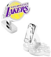 Cufflinks Inc. Men's Palladium LA Lakers Cufflinks