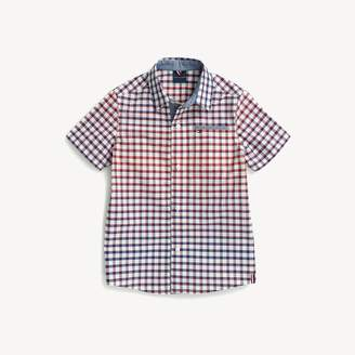 Tommy Hilfiger Plaid Short-Sleeve Shirt