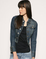 Blank Denim Western Jacket