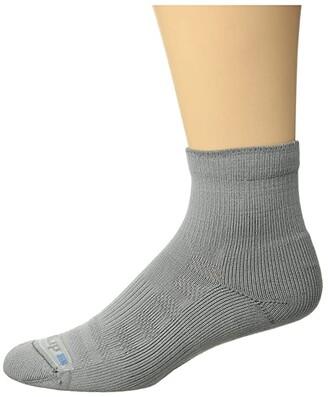 Drymax Sport Hiking 1/4 Crew 1-Pair (Gray/Anthracite) Women's Crew Cut Socks Shoes