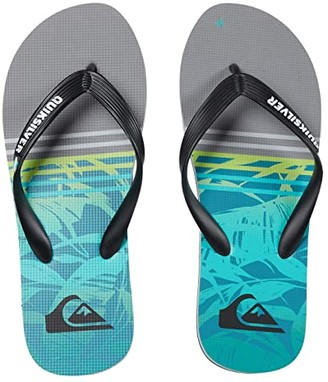 Quiksilver Molokai Print (Black/Grey/Black 4) Men's Sandals