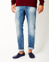 ONLY & SONS Weft Medium Blue Denim Jeans