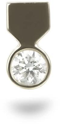 Lena Cohen Fine Jewellery 18k White Gold Medal Diamond Stud