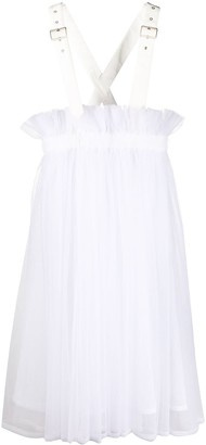 Comme des Garcons Flared Pinafore Dress