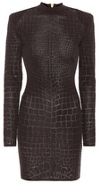 Balmain Long-sleeved minidress