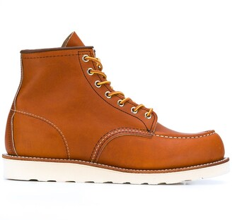 Red Wing Shoes Classic Moc lace-up boots