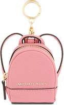 MICHAEL Michael Kors Leather backpack keyring