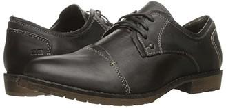 Bed Stu Repeal (Black Rustic Leather) Men's Lace Up Cap Toe Shoes