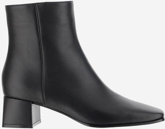 Gianvito Rossi Black Smooth Leather Ankle Boots