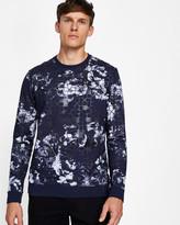Ted Baker Printed cotton sweatshirt