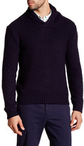 Scotch & Soda Shawl Collar Knit Sweater