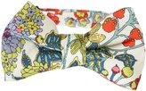 Peppercorn Kids Boys Exotic Floral Bowtie (Kid) - Floral/Red - Small
