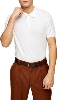 Topman Slim Fit Short Sleeve Polo