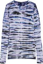 Proenza Schouler Tie-dye Cotton-jersey Top - Purple
