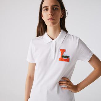 Lacoste Womens Regular Fit Soft Cotton Pique Polo Shirt