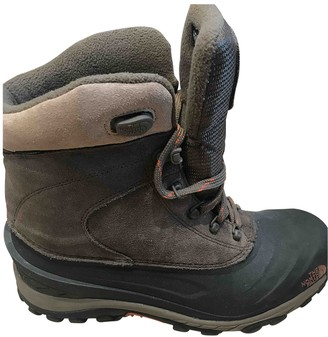 The North Face Brown Rubber Boots