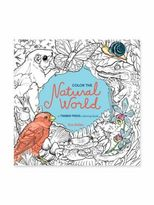 Workman Publishing Color The Natural World Coloring Book