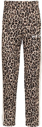 Palm Angels Leopard-Print Trousers