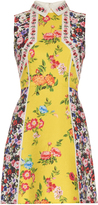 Mary Katrantzou Amore floral-print silk and cotton-blend dress