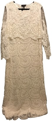 Burberry White Lace Dress for Women
