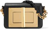 Tom Ford New Natalia Mini Leather Shoulder Bag - Black