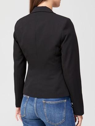 Very Short Core Blazer - Black