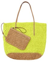Thumbnail for your product : LOFT Straw Beach Bag