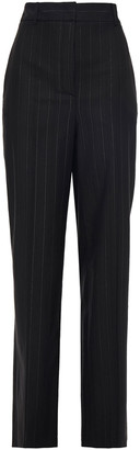 Paul & Joe Metallic Pinstriped Twill Wide-leg Pants