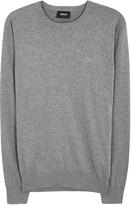 Armani Jeans Dark Grey Cotton Jumper
